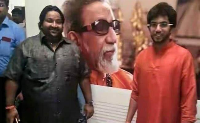 A Party Mumbai Activist Who Resigned to the Shiv Sena - Sakshi