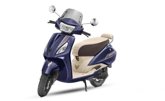 TVS Motor launches new BS-VI TVS Jupiter - Sakshi