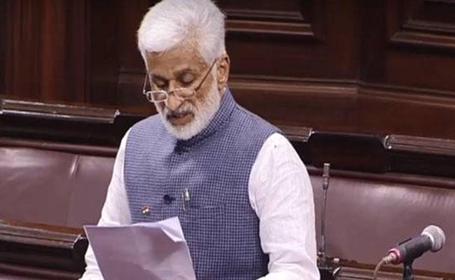 Vijay Sai Reddy Questioned Union Minister Hardeep Singh Puri In Rajya Sabha - Sakshi