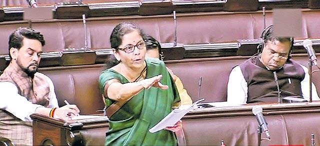 No recession in Indian economy says Nirmala Sitharaman in Rajya sabha - Sakshi