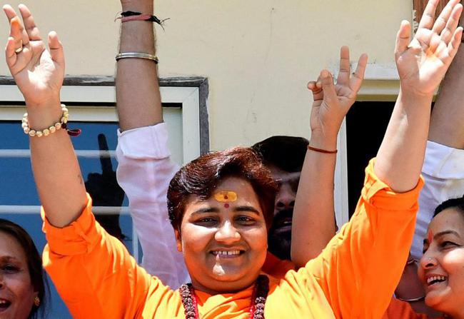 BJP Removes Pragya Singh Thakur From Defence Panel - Sakshi