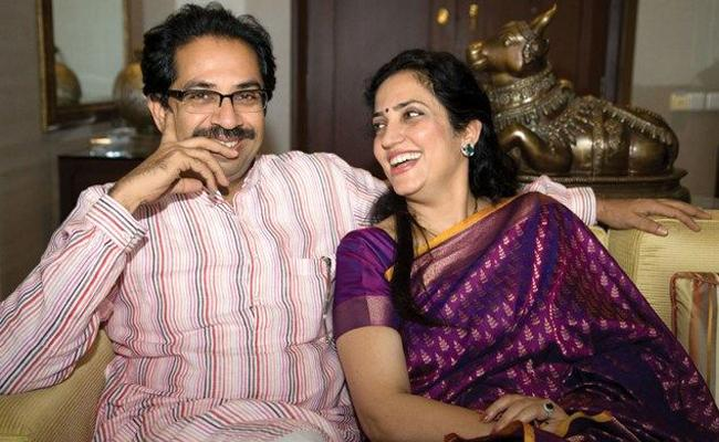 Rashmi Thackeray Wife of Uddhav Thackeray - Sakshi