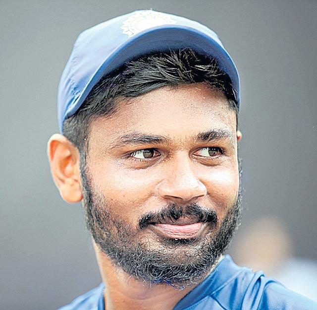 Sanju Samson comes in for T20I series against West Indies - Sakshi