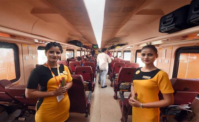 20 Staff Members Terminated From Tejas Express - Sakshi