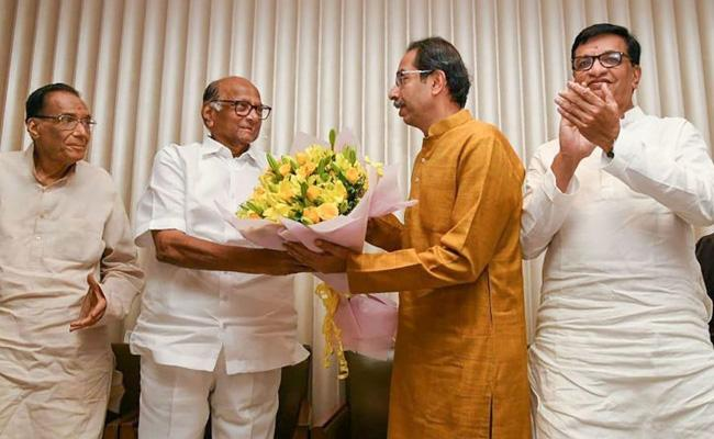 Six Ministers Can Take Oath With Uddhav Thackeray In Maharashtra - Sakshi