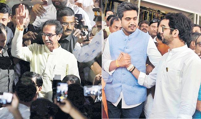 Uddhav Thackeray to Take Oath as Maharashtra CM Today - Sakshi