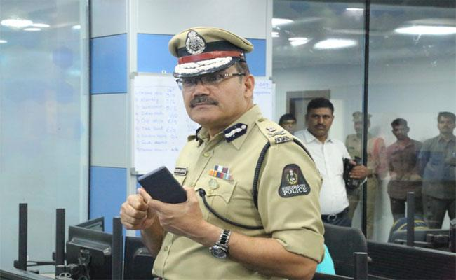 Police Commissioner Said If Anyone In Danger Should Seek Help Police - Sakshi