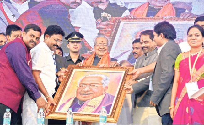 Governor Biswa Bhusan Harichandan Attends AP Science Congress In Srikakulam - Sakshi