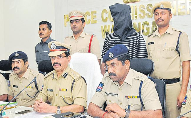 Manasa Murder Case Mystery: Police Arrest Sai Goud In warangal - Sakshi
