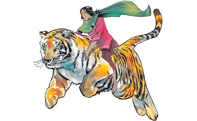 Indias Female Comic Superhero Returns To Rescue Stolen Girls - Sakshi