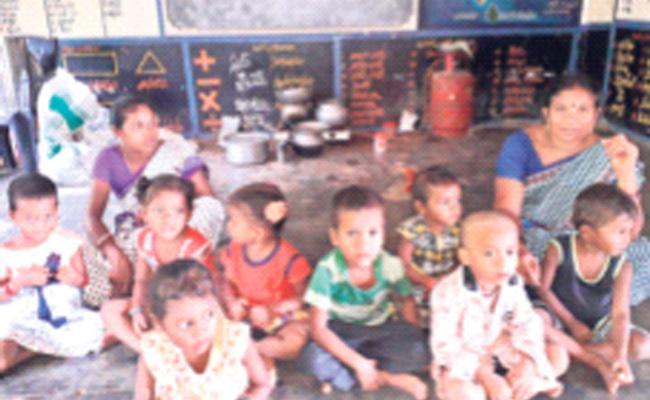 YSR Sampurna Poshan Scheme Will Be Implemented In Agency - Sakshi