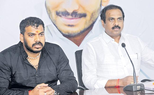 Kannababu and Anilkumar Yadav Comments On Chandrababu and Pawan Kalyan - Sakshi