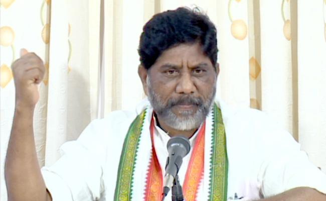 TSRTC Strike Congress Leader Bhatti Vikramarka Critics CM KCR - Sakshi