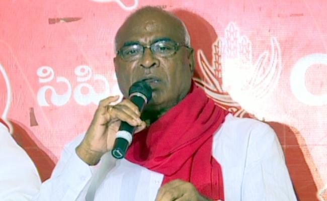 CPI Chada Venkat Reddy Slams On CM KCR Over TSRTC Strike - Sakshi