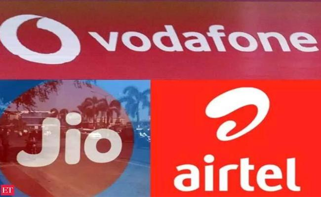 Reliance Jio Opposes Telco Bailout For Vodafone Idea  - Sakshi