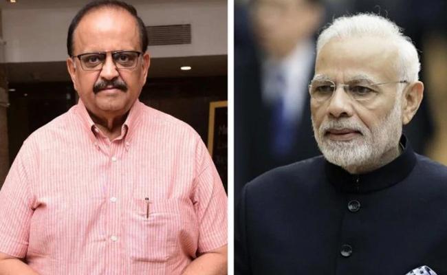 SP Balasubrahmanyam Upset On PM Modi - Sakshi