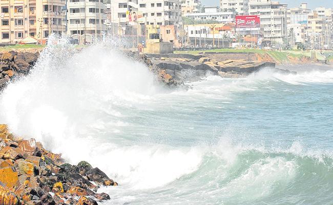 Danger to the AP coastal area - Sakshi