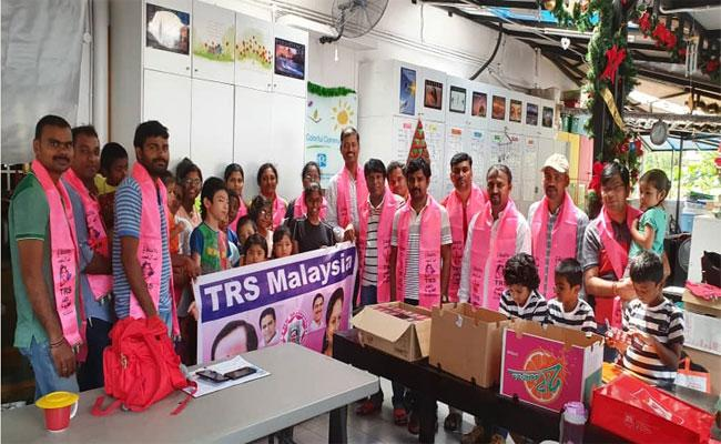 Deeksha Divas Organized By TRS Malaysia NRI Wing - Sakshi
