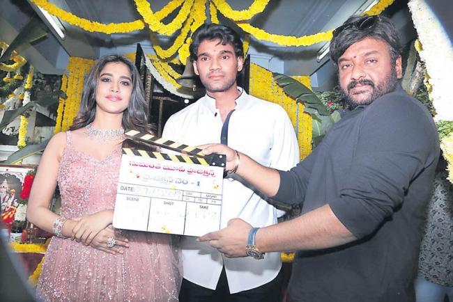 Bellamkonda Srinivas And Nabha Natesh New Movie Launch - Sakshi