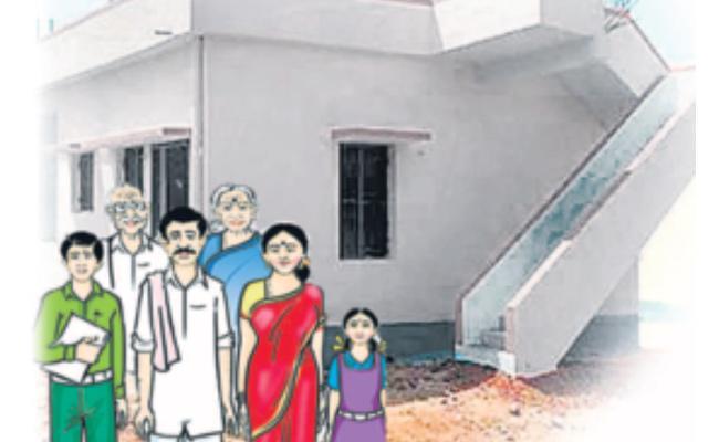 Prime Minister Awas Yojana Scheme Grant Houses To The Poor - Sakshi