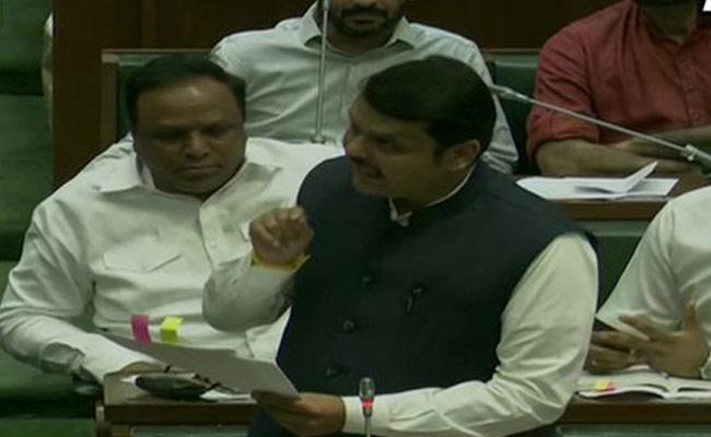 Maharashtra Floor Test Devendra Fadnavis FIres On Uddhav Govt - Sakshi