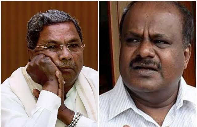 Former Karnataka CMs Siddaramaiah, Kumaraswamy booked for sedition case - Sakshi
