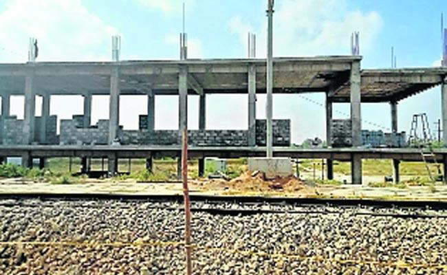 Secunderabad To Mahabubabad Doubling Train Work - Sakshi