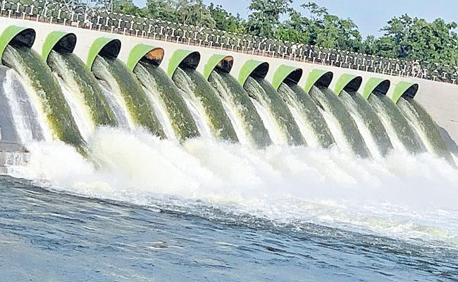 Kaleshwaram Irrigation Project Has A problem To Shift A Village - Sakshi