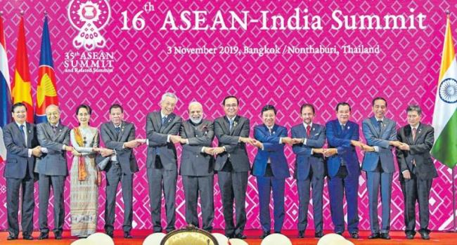 ASEAN An Integral Part Of Our Act East Policy - Sakshi