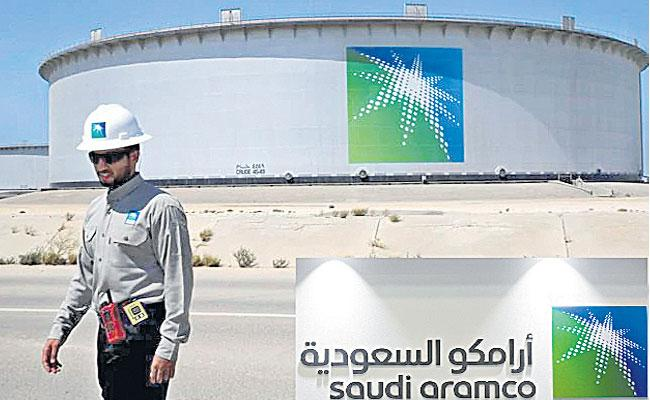 Saudi Arabia Kick Starts IPO Of Worlds Largest Oil Company - Sakshi