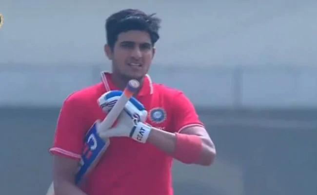 Deodhar Trophy Final: Shubman Breaks Kohli's Record - Sakshi