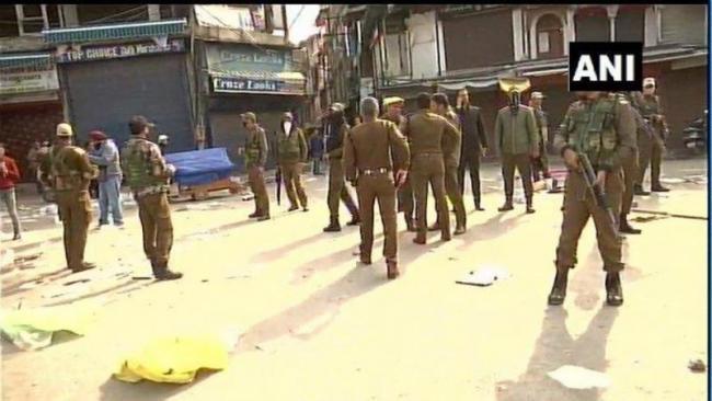 Fifteen Injured In Grenade Attack In Srinagar Market - Sakshi