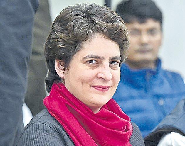 Priyanka Gandhi Phone Hacked Through WhatsApp Spyware - Sakshi