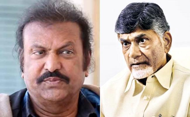 Senior Actor Mohan Babu Fires On Chandrababu Naidu On Twitter - Sakshi
