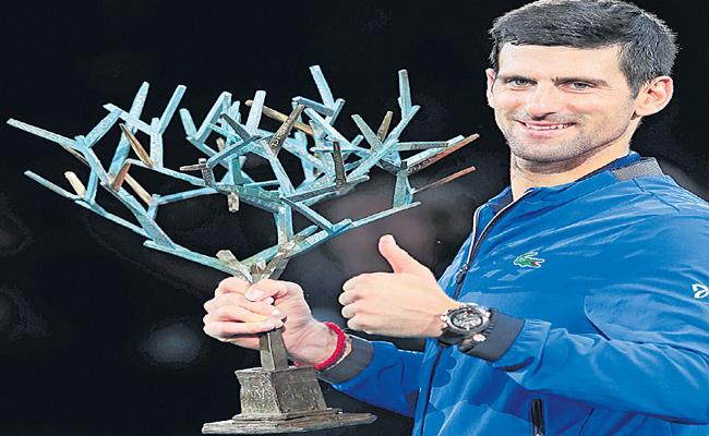 Serbia Star Djokovic Wins 34th Masters Series Titles - Sakshi