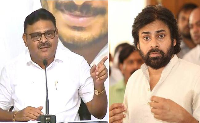 Ambati Rambabu Slams Pawan Kalyan Over Vizag Long March - Sakshi