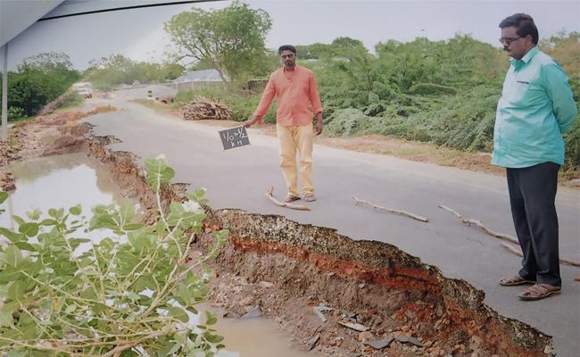 Road Constructions in YSR Kadapa - Sakshi