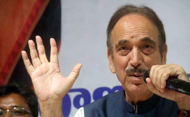 Ghulam Nabi Azad Fires On BJP Government - Sakshi
