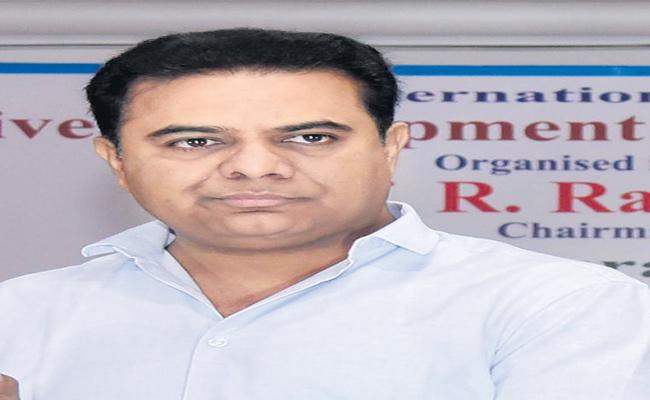 KTR Meets Huzurnagar By Election Incharge And Party Leaders - Sakshi