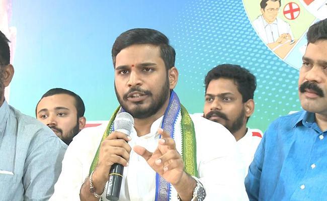 YSRCP State Official Spokesperson Konda Rajiv Gandhi Criticizes Pawan Kalyan - Sakshi