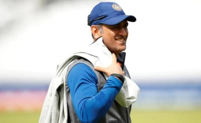 Star Sports Plans for MS Dhoni to don commentators hat during day-night Test - Sakshi