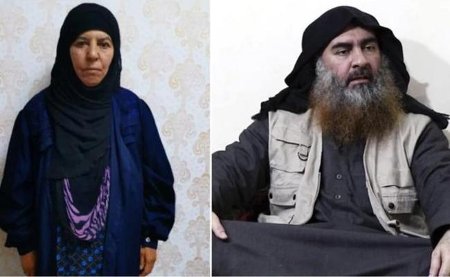 Turkey Says It Captured Slain IS Leader Baghdadis Sister - Sakshi