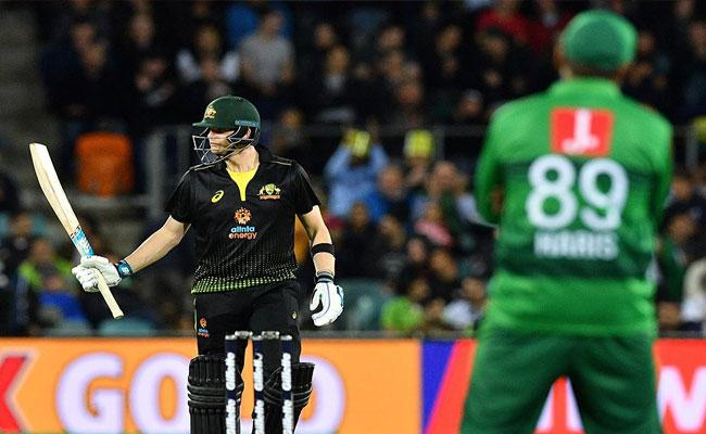 Smith Powers Australia Beat Pakistan By 7 Wickets In 2nd T20 At Canberra - Sakshi