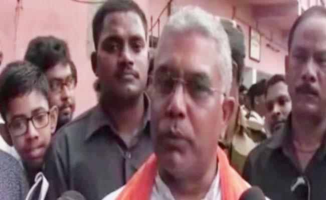 Dilip Ghosh Says Intellectuals Eat Dog Meat Too Who Eat Beef - Sakshi
