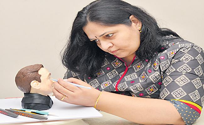 Special Story About Cake Designs By Nirmala Reddy - Sakshi
