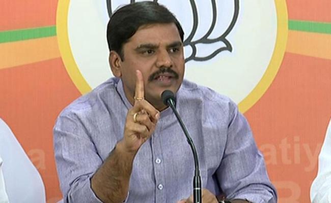 Fake Twitter Account Created In The Name Of BJP Vice President Vishnuvardhan Reddy - Sakshi