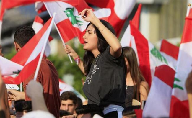 Whatsapp Revolution in Lebanon Challenges Govt - Sakshi