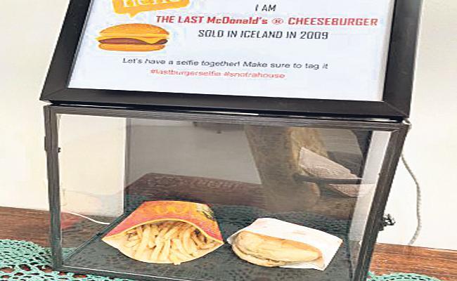 Iceland Live Stream Ten Year Old McDonalds Cheeseburger - Sakshi