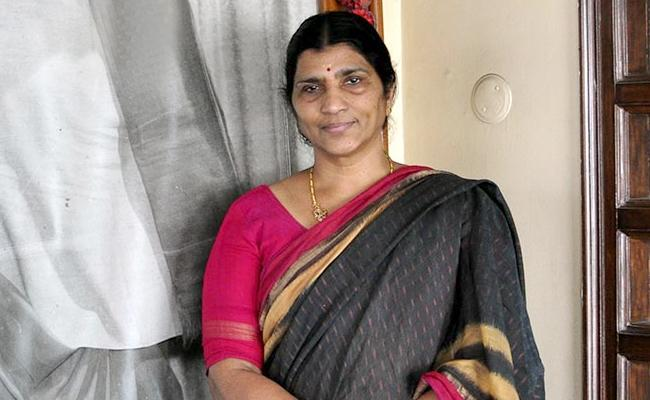 AP Government Appointed Nandamuri Laxmi Parvathi as the Chairperson of Telugu Academy - Sakshi