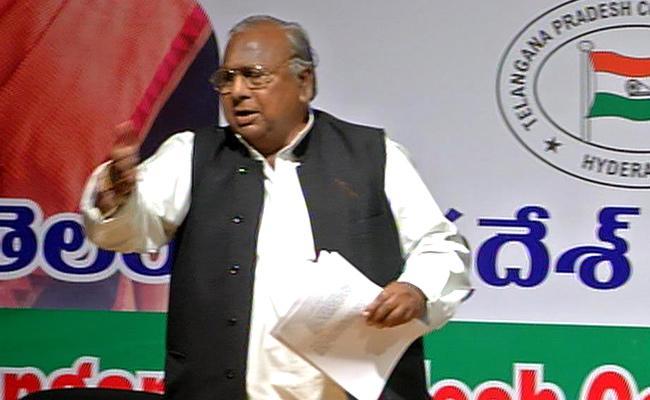 Telangana Congress Leaders War of Words At Ghulam Nabi Azad Presence - Sakshi